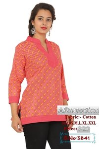 Ladies Designer Short Kurtis