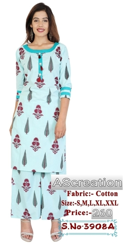 d99ccb63c1 Ladies Designer Long Kurtis With Palazzo Manufacturer, Supplier ...