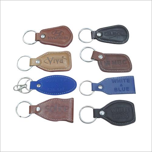 Multiple Leather Key Rings