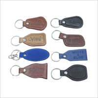 Multiple Leather Key Rings