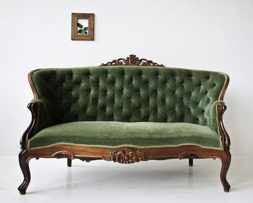 Carved Sofa