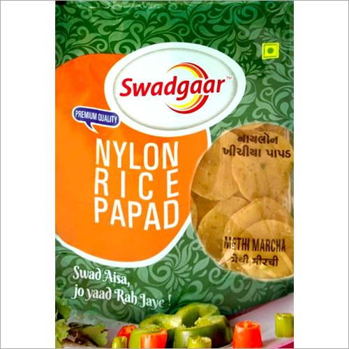 Nylon Rice Papad - Manufacturer,Supplier,Distributor