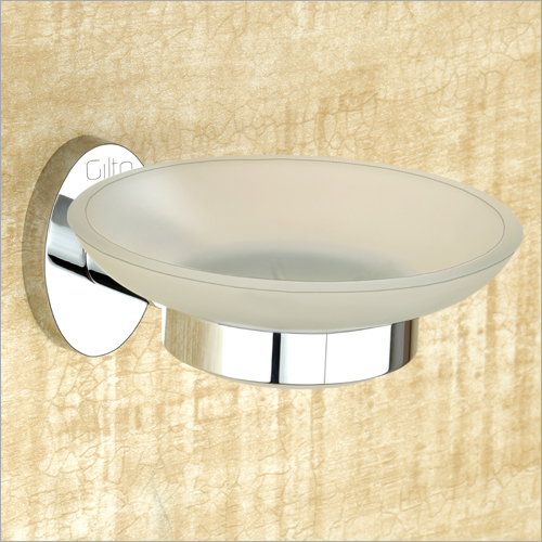 Brass Soap Dish Glass
