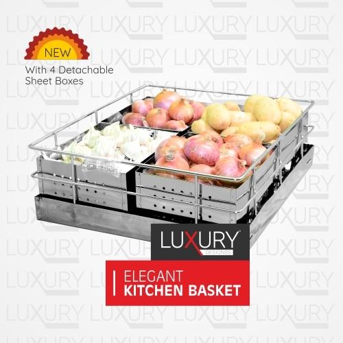 Stainless Steel Sheet Premium Vegetable Basket