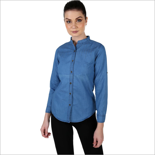 Ladies Denim Shirt
