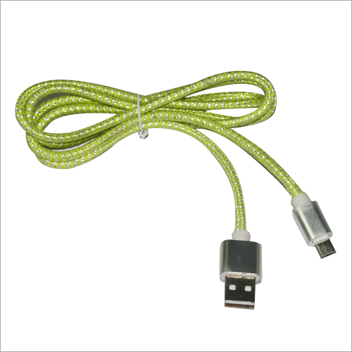 Braided USB Data Cable