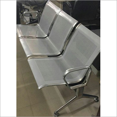 3 Seater Steel Waiting Chair