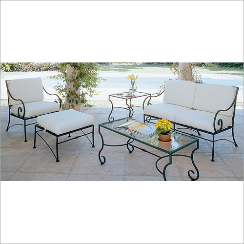 Iron Outdoor Furniture Set