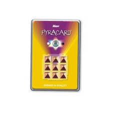 Energy & Vitality Pyra Card