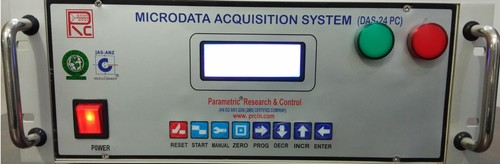 Data Acquisition System with Barcode Printer