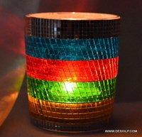 Beautiful Candle Holder Glass Base Candle Holder