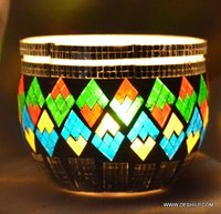 Color Decorative Candle Holders Vintage Votive