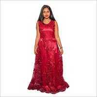 Ladies Party Wear Fancy Gown Dress