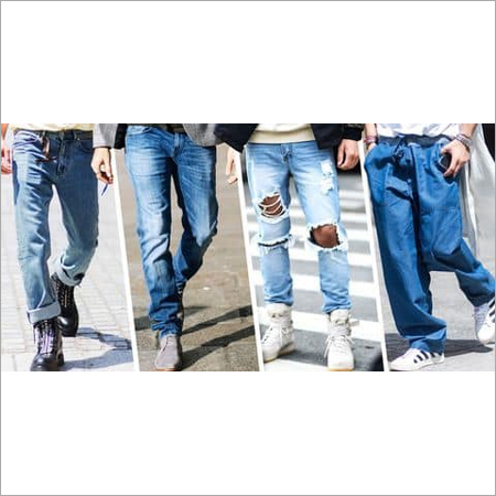 Mens Stretchable Ripped Jeans