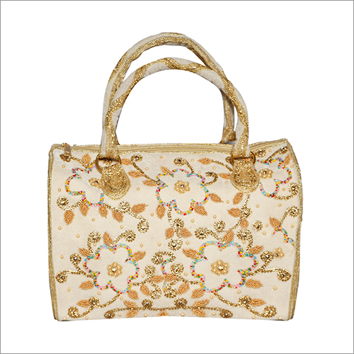 Ladies Embroidered Handbag & Shoes