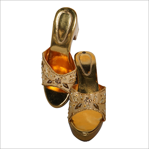 Ladies Heavy Embroidered Sandals