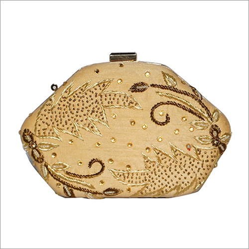 Clutch Purse Golden Shining