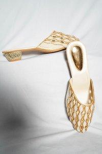 Ladies Beads Sandals & Bag