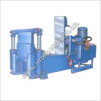 Auto Door Hydraulic Baling Press Machine