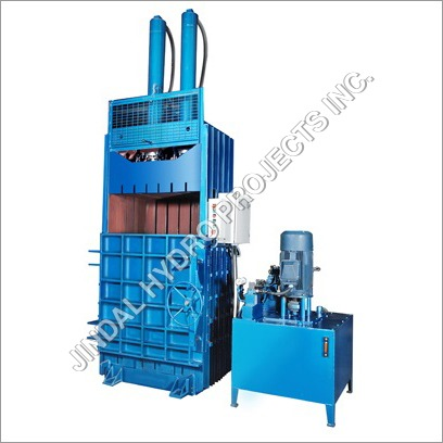 Single Box Double Cylinder Baling Press Machine