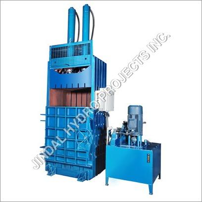Single Box Double Cylinder Baling Press Machine