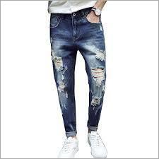 Men Designer Ripped Jeans