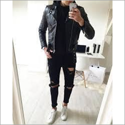 Men Party Wear Black Jeans
