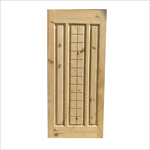3 Panel Solid Wooden Pine Door