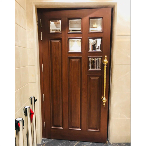 Three Panel Wooden Door