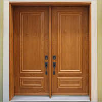 Designer Wooden Double Door