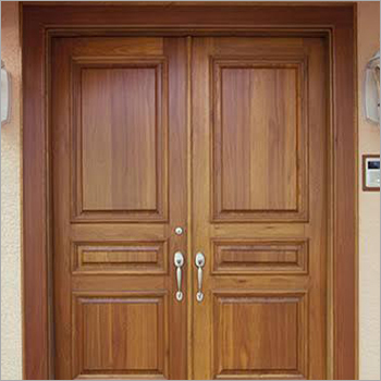 Wooden Designer Double Door