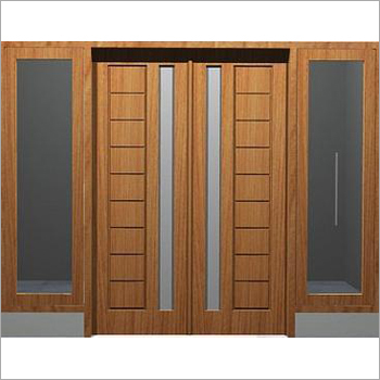 Wooden Front Double Door
