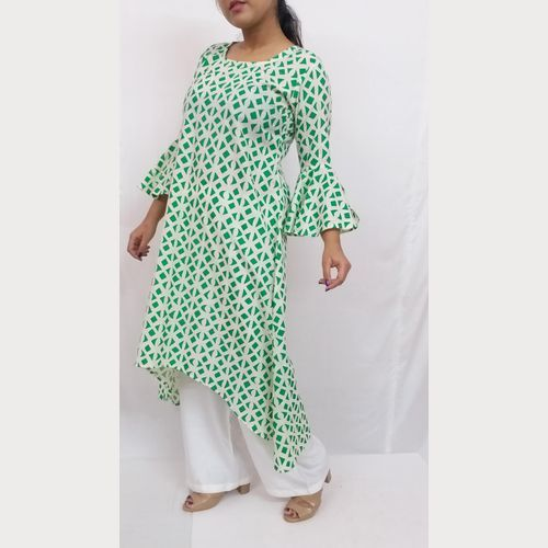Cotton High-low Style Kurti