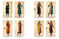 Long Straight Rayon Kurtis