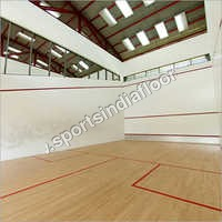 MAPLE WOOD BADMINTON FLOORING