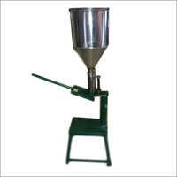 Mehandi Cone Paste Filling / Manual Machine