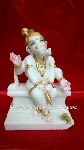 Bal Ganesh Holi Statue