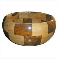 Printed Wooden Bowl