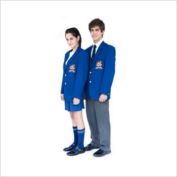 Institutional Blue Uniforms