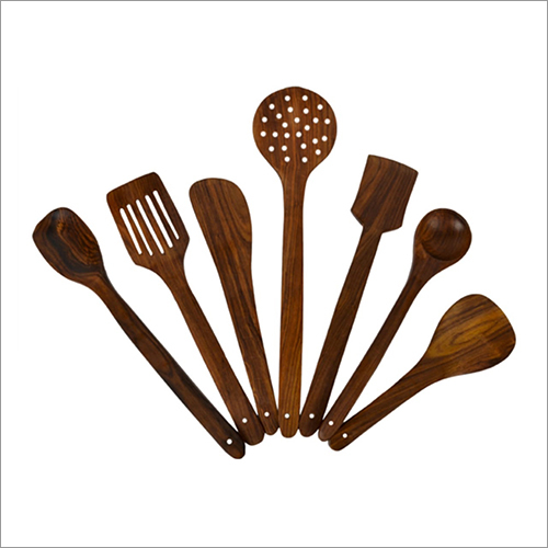 Wooden Cooking Ladle Set