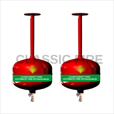 Automatic Clean Agent Modular Fire Extinguisher