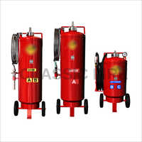 Trolley Mounted Fire Extinguisher