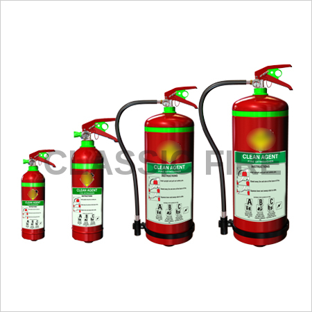 Clean Agent Fire Extinguisher