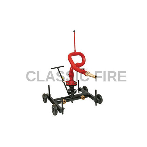 Fire Trolley Mounted Monitor