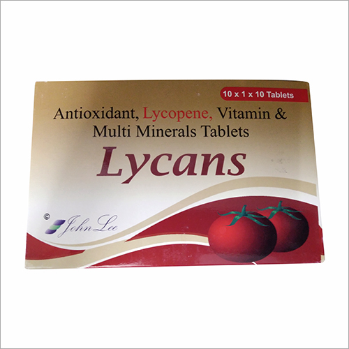 Lycans Antioxidants Lycopene Vitamins Multimineral Capsules