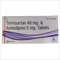 Telmisartan 40mg & Amlodipine 5mg Tablets