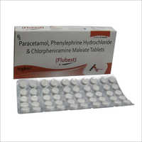 Paracetamol  Chlorpheniramine Maleate Tablets