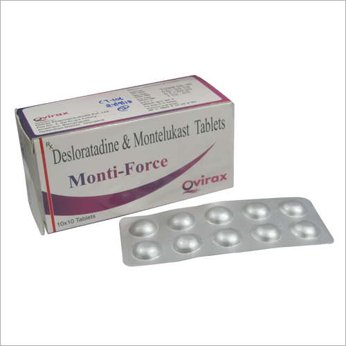 Force_Desloratadine & Montelukast Tablets