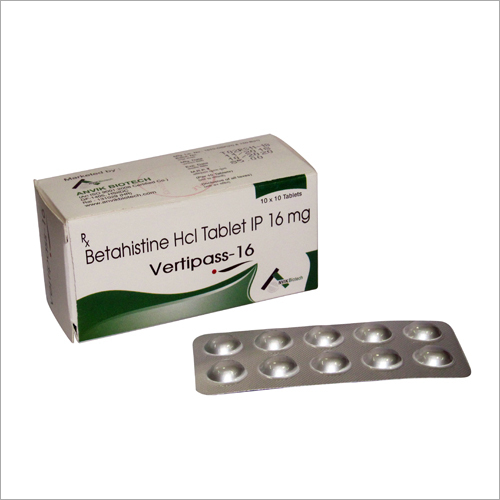16_16mg Betahistine Hcl Tablets