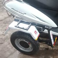 Handicapped Two Wheeler Vehicle